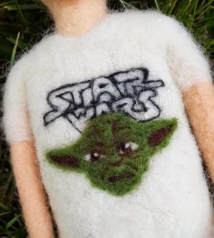 star wars- yoda tshirt logo
