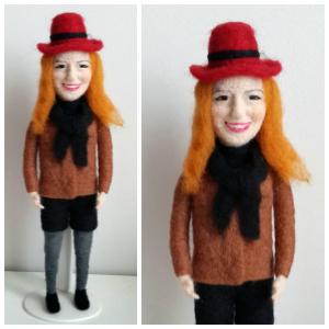 Kırmızı şapkalı Canan
