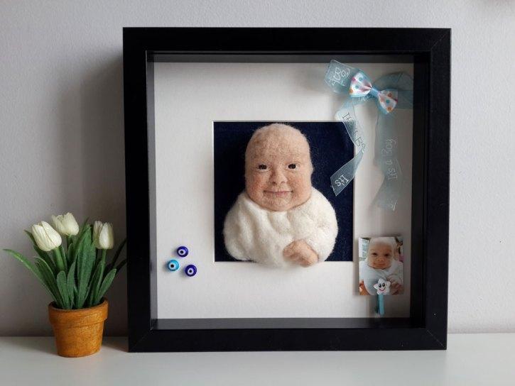 yün bebek panosu