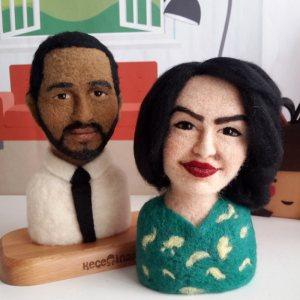 Wail & wife