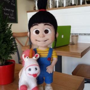 Agnes & unicorn :)
