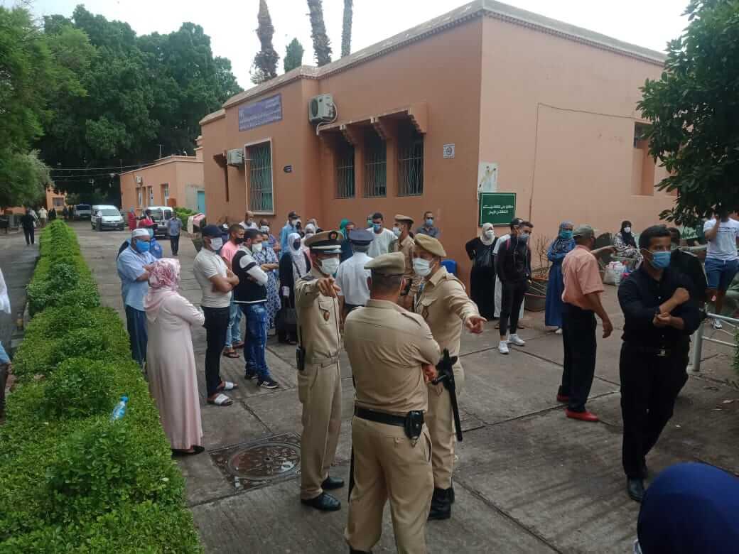 الوضع الكارثي بالمامونية يُخرج الشغيلة الصحية للإحتجاج