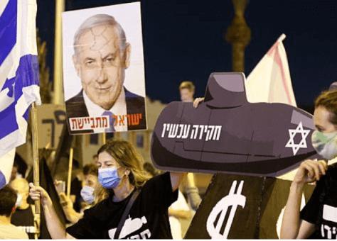 إسرائيليون يتظاهرون ضد توقيع اتفاقيتي التطبيع مع الإمارات والبحرين