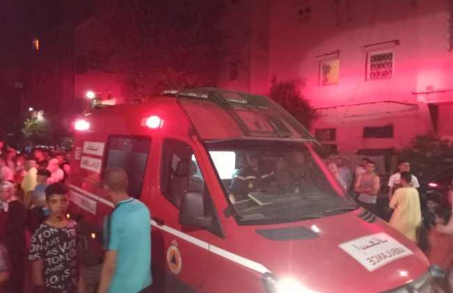 بعد تدخل بطولي.. وفاة أحد ضحايا حريق الداوديات بمراكش