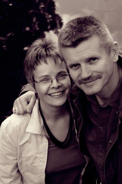 Henryk Dedo z żoną