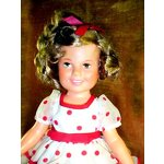 My Shirley Temple Doll from Santa