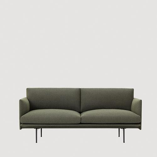 Muuto bank Outline Sofa 2 seater