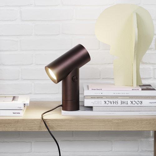 Beam lamp Umber