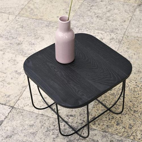 Menu Cage Table Black