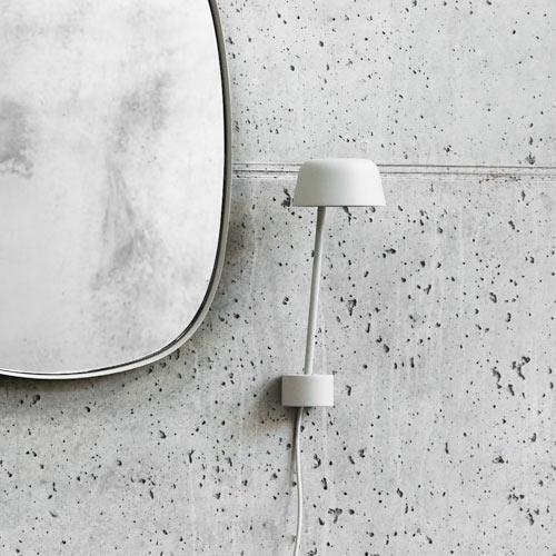 Muuto Lean White Wandlamp