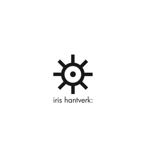 Iris Hantverk Veger en Blik staand White
