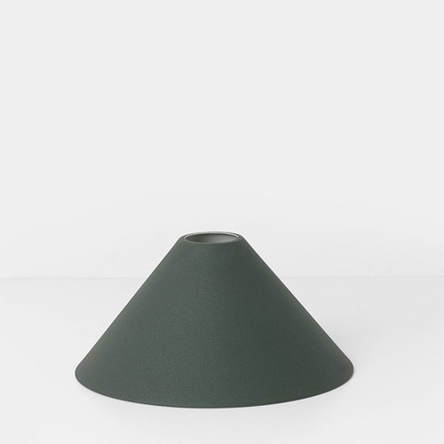 Ferm Living Cone Shade Dark Green