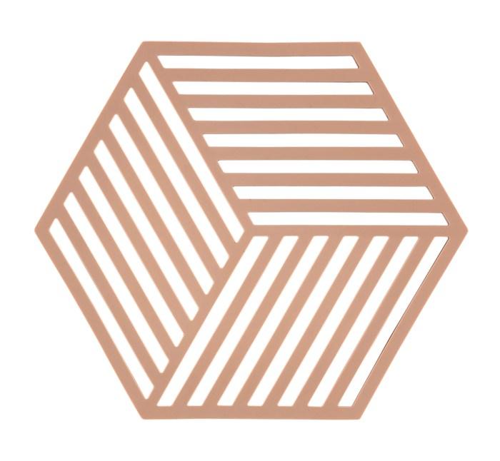 Trivet nude hexagon