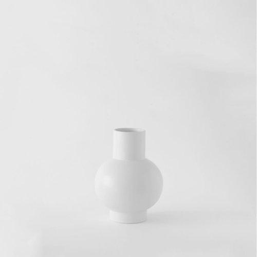 Raawii Small Vase Strøm Vaporous Grey