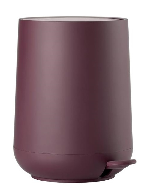 Pedal bin velvet purple nova one 5 L