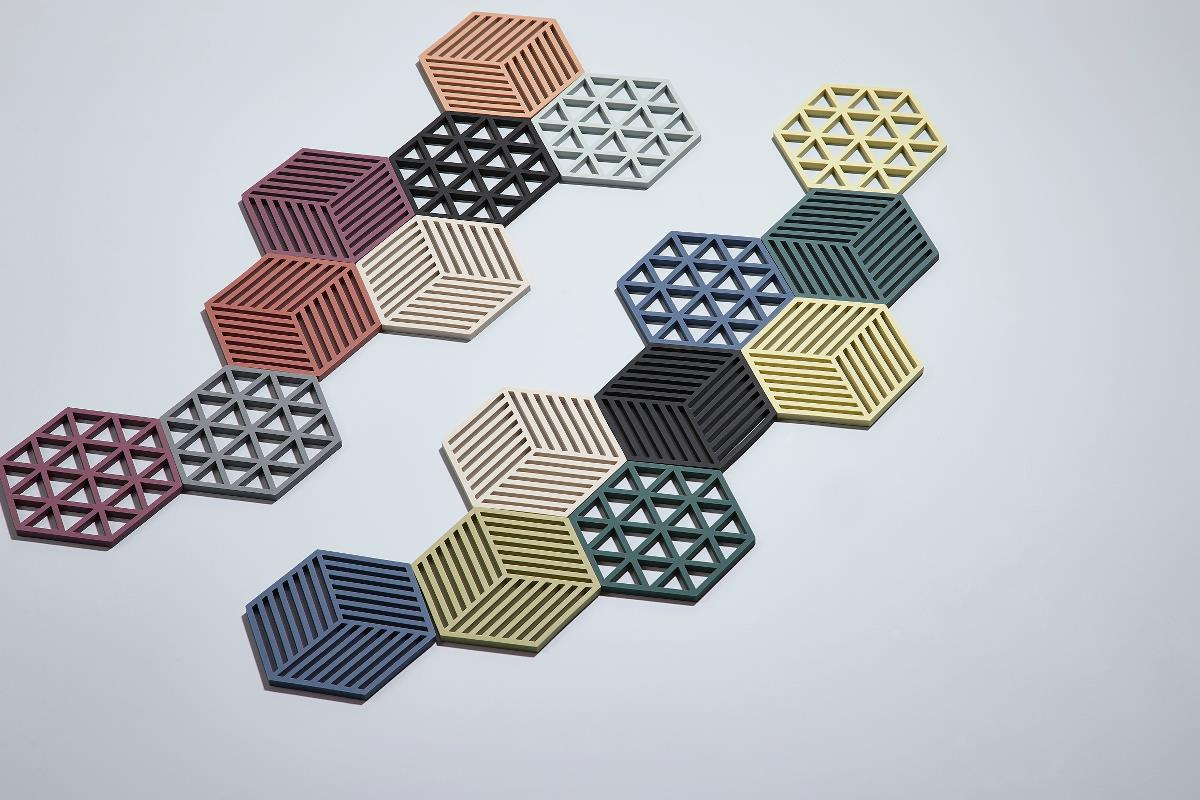 Trivet limone hexagon