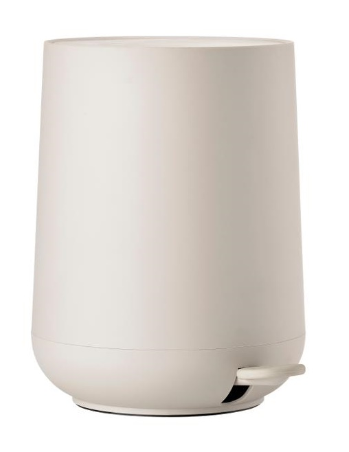 Pedal bin cream nova one 5 L