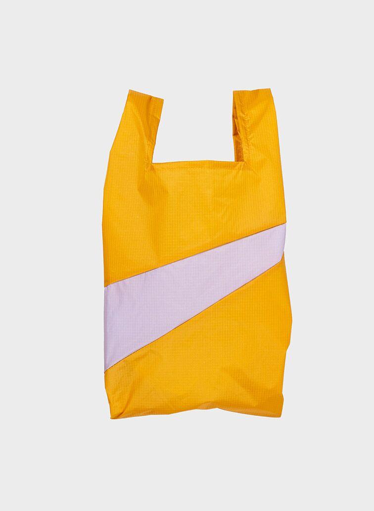 Shoppingbag 2012 moutarde & lavender M