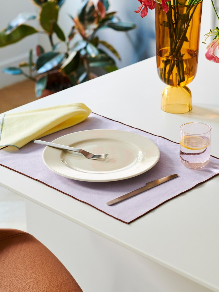 Hay Contour Placemat set of 4 Lavender