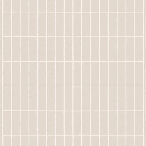 Marimekko stof Tiiliskivi lightgrey