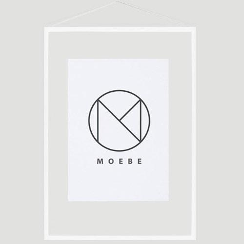 Moebe Frame A2 White