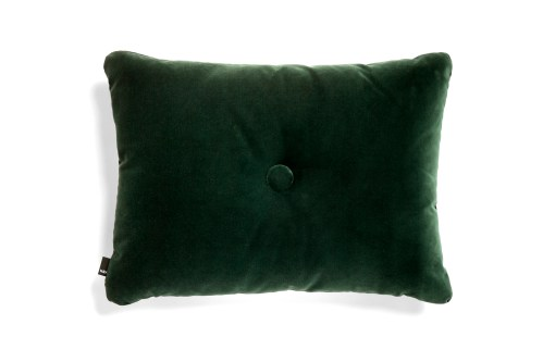 Dot Cushion soft dark green