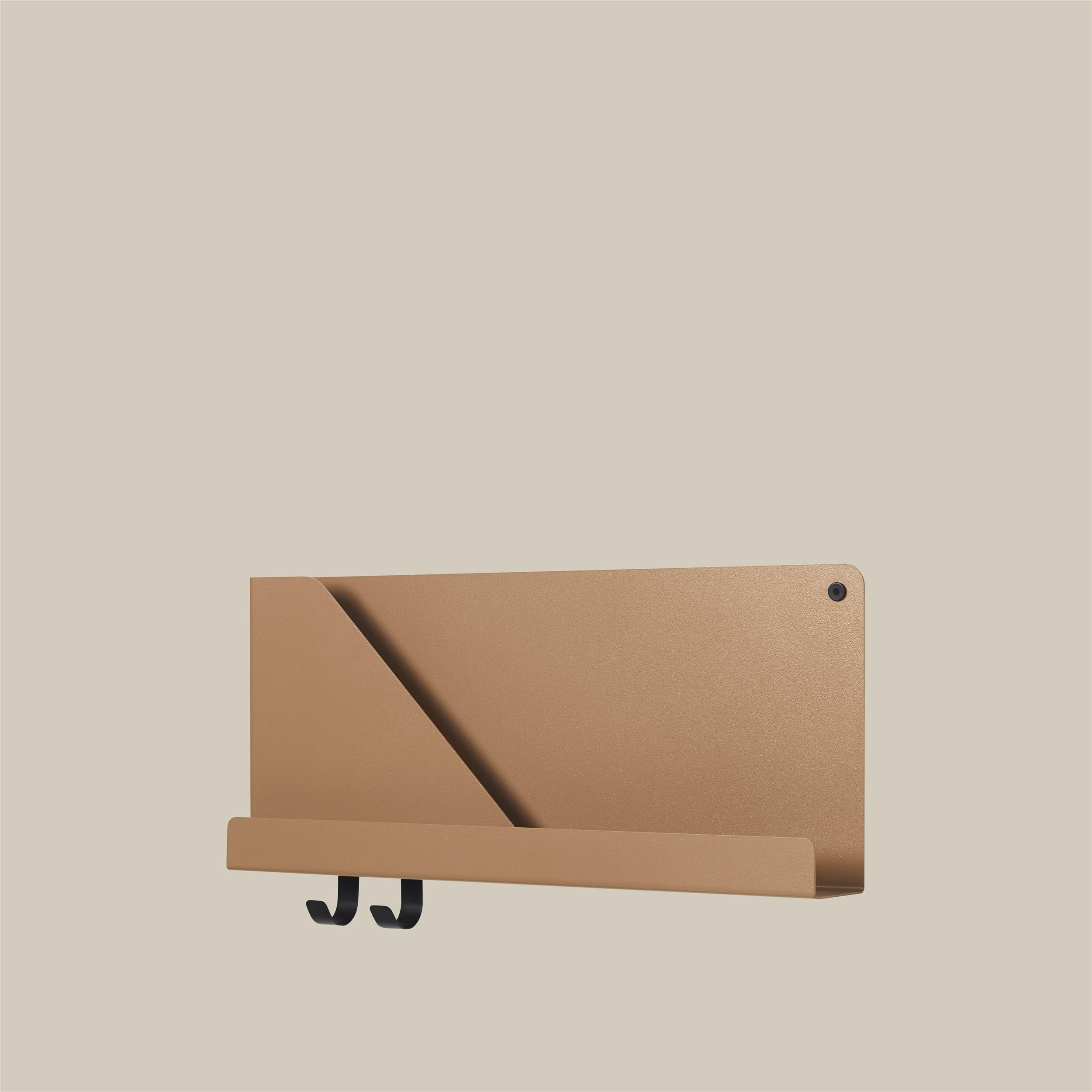 Muuto Folded Shelf S Burnt Orange 51cm