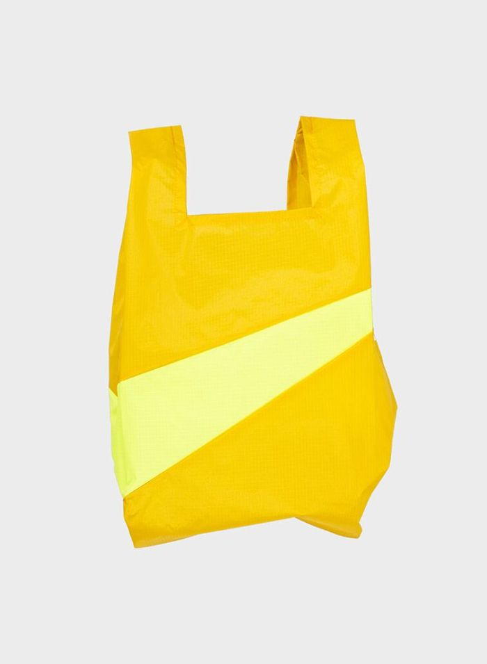 Shoppingbag 2017 helio & fluo yellow M