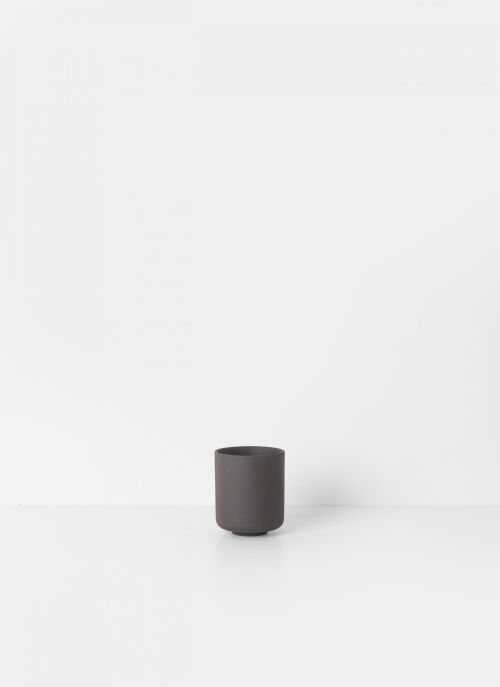 Ferm living sekki cup charcoal large