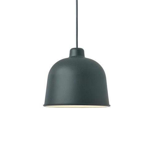 Muuto Grain Lamp dark green