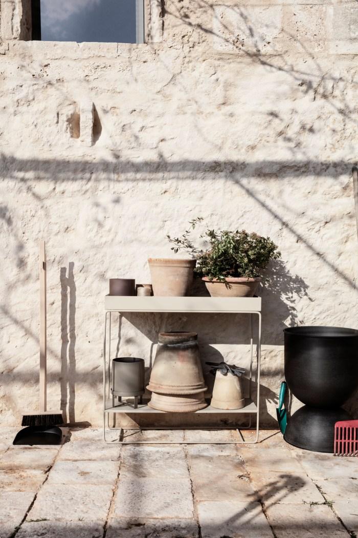 Ferm Living Plant Box Two-Tier Cashmere