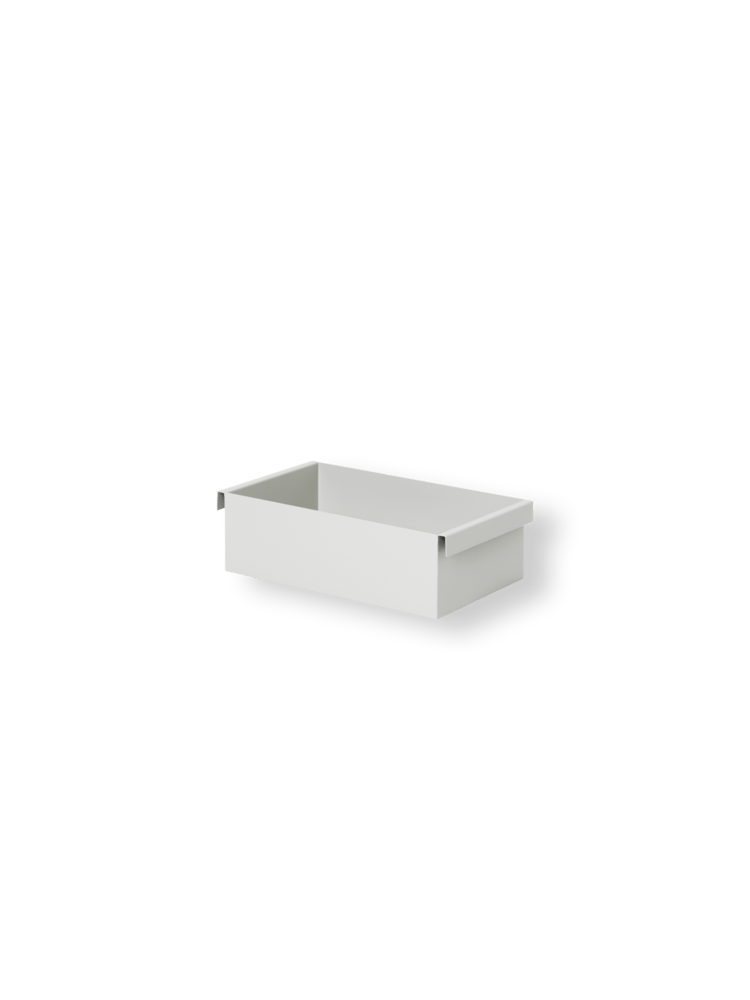 Container for plant box light grey