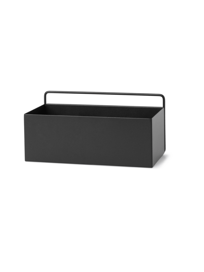 Wall box rectangle black