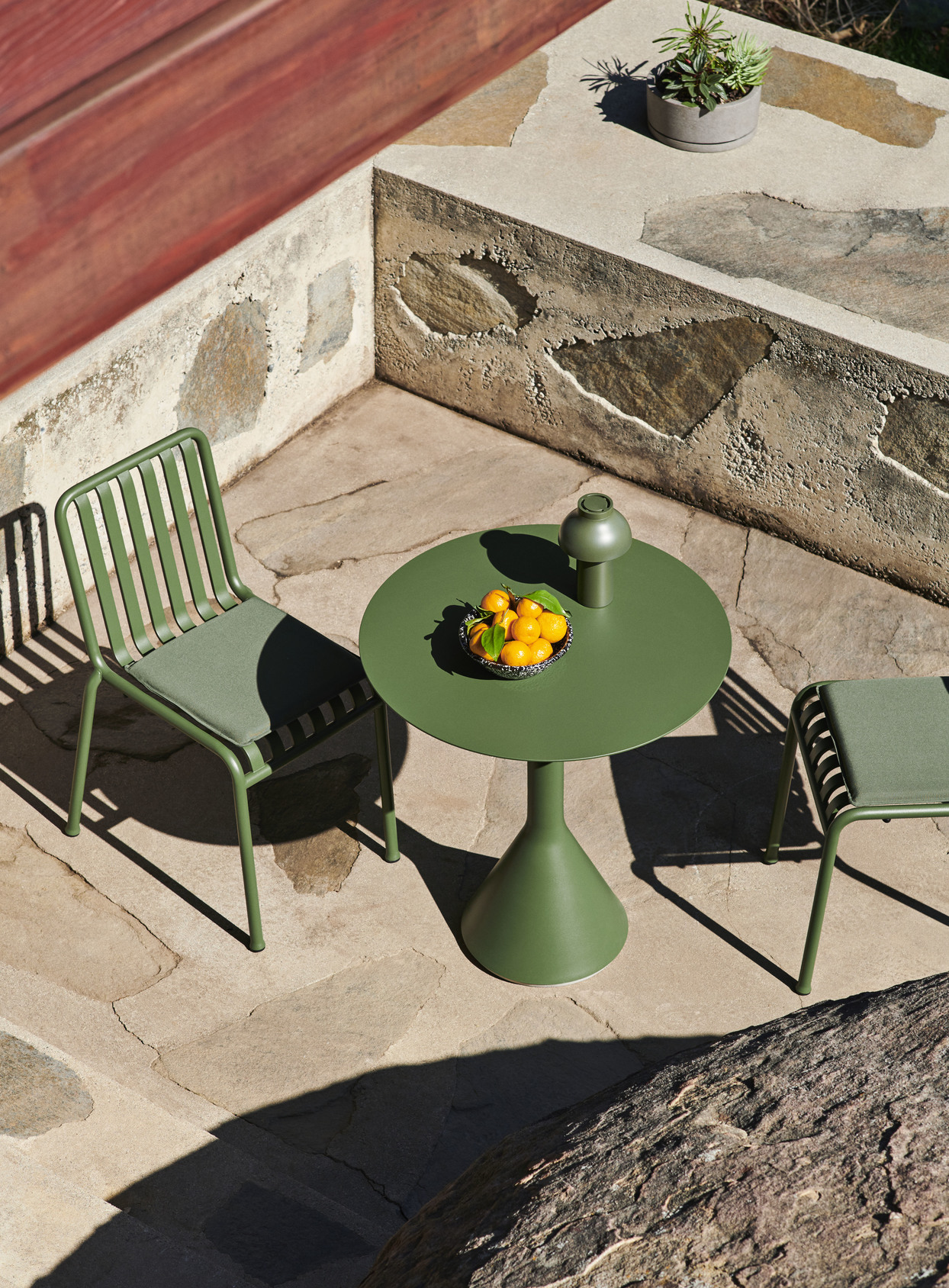 Hay Palissade Cone Table 70 Olive