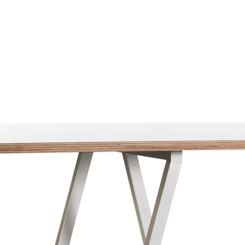 HAY Loop Stand Table white 250 cm