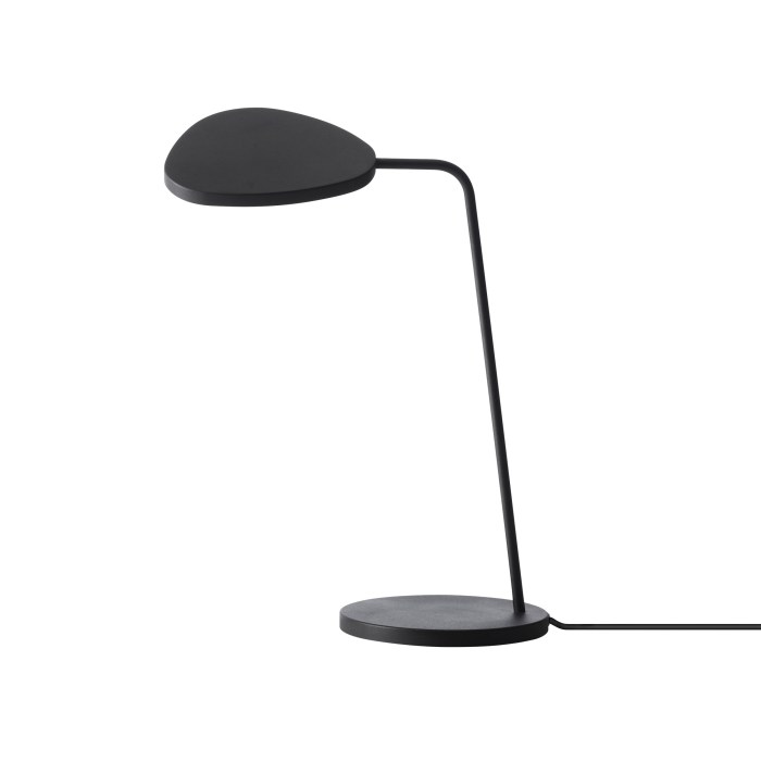 Muuto Leaf Table Lamp Black