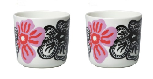Kaukokaipuu coffee cup 2dl violet/red