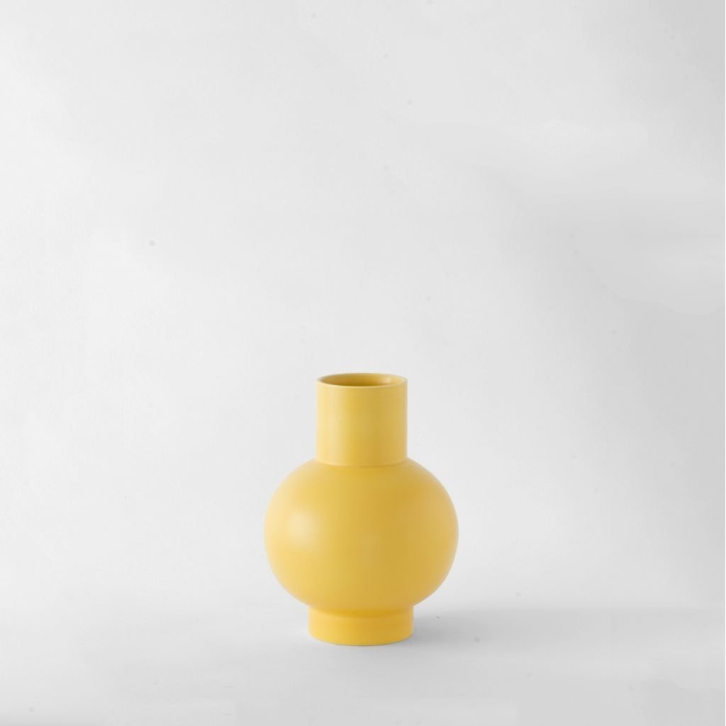 Raawii Small Vase Strøm Freesia Yellow