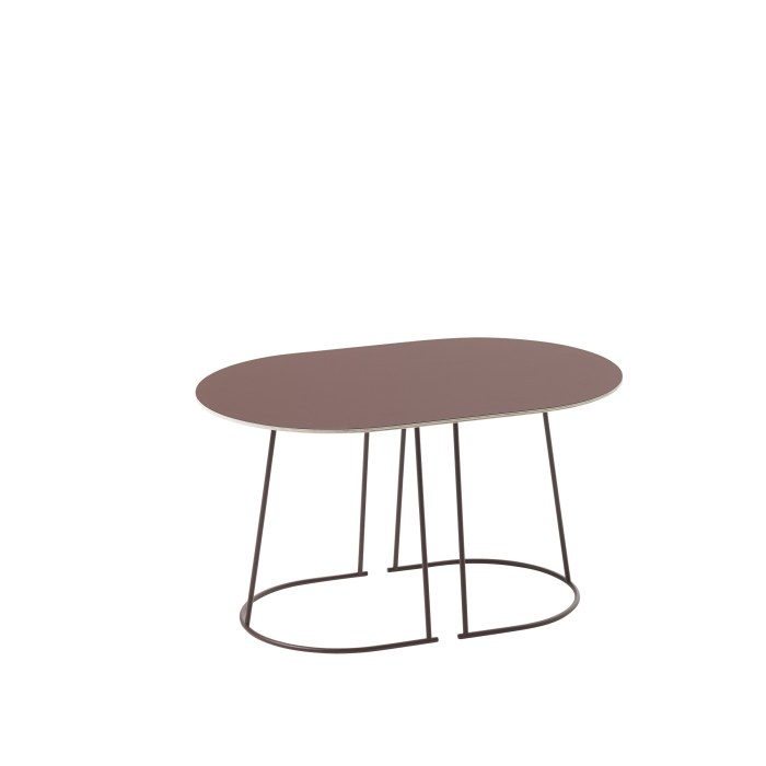 Muuto Airy Coffee Table Small Plum