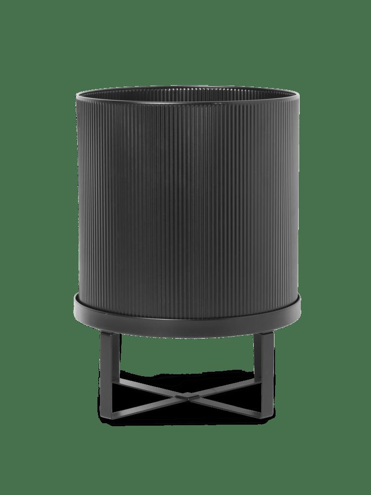 Bau pot large black
