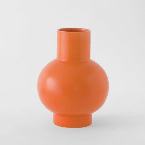 Raawii Extra Large Vase Strøm Vibrant Orange