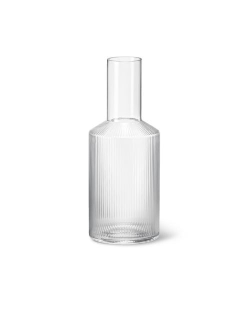Ripple carafe clear