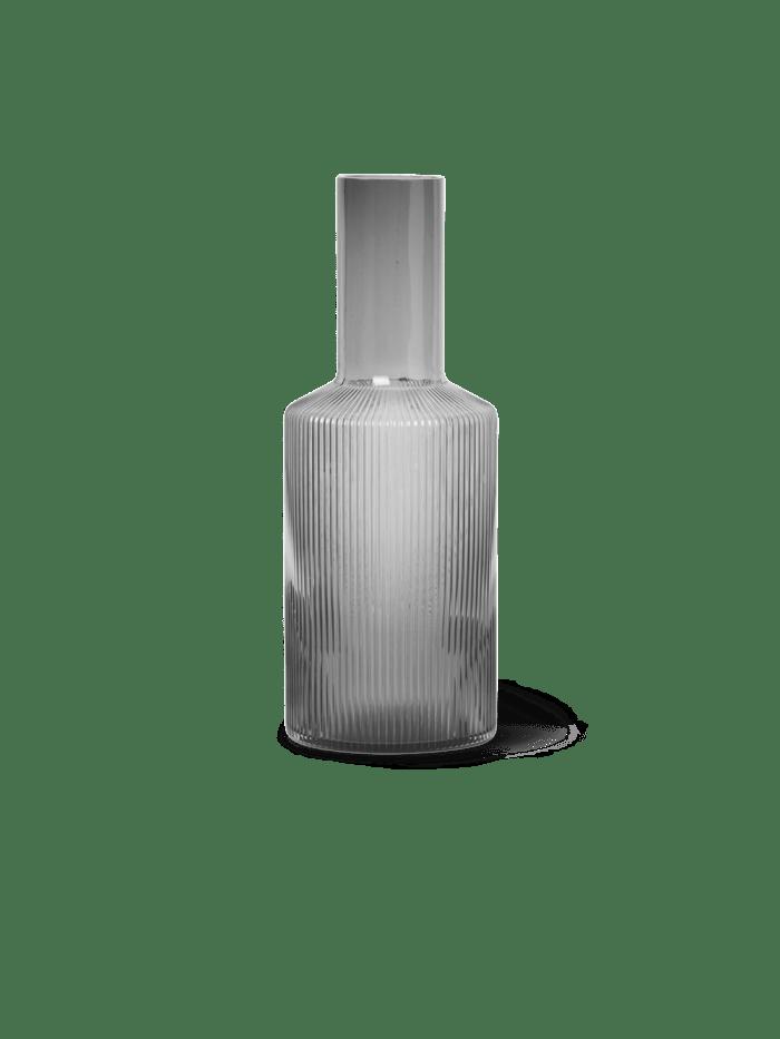 Ripple carafe smoked grey