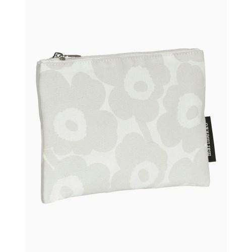 Kaika Mini Unikko pouch white/light grey