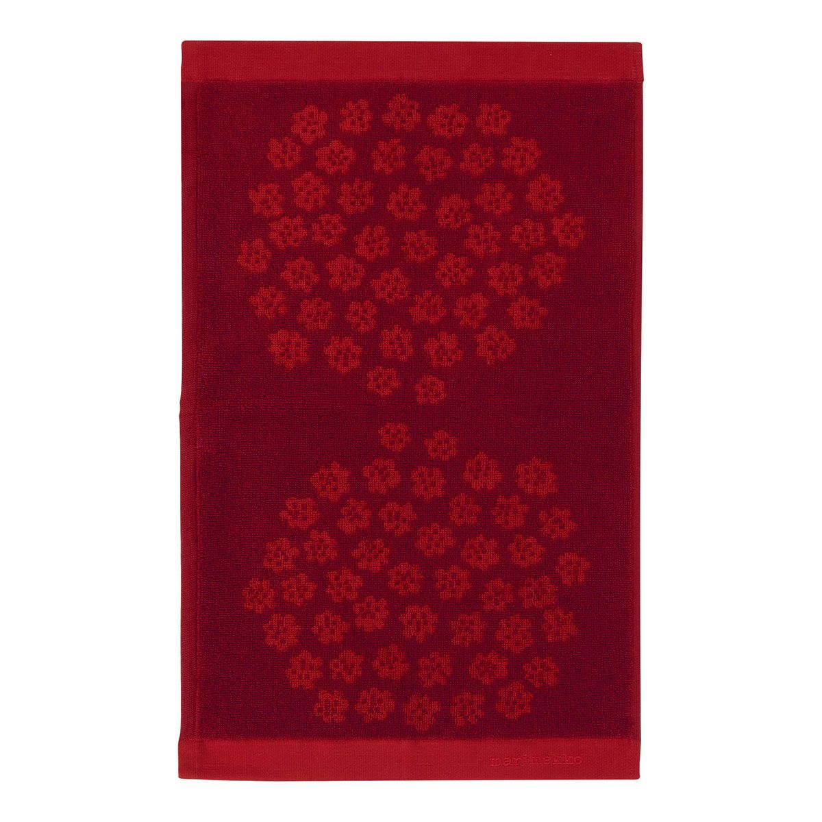 Puketti guest towel 30x50cm red/dark red