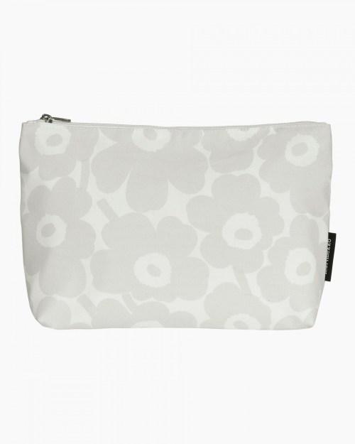 Relle Mini Unikko cosmetic bag white/light grey
