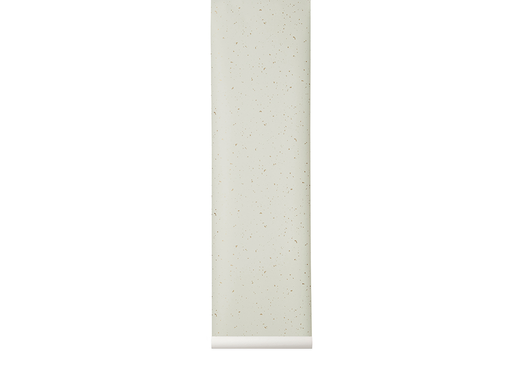 Ferm Living behang Confetti Off-white