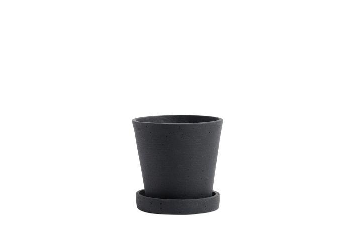 Flowerpot S black