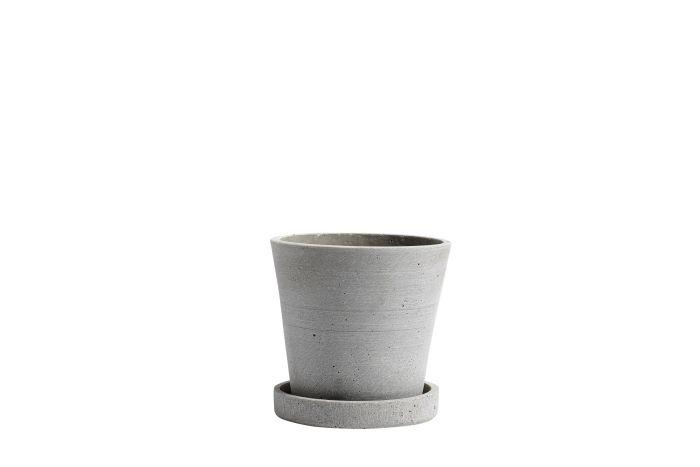 Flowerpot S grey