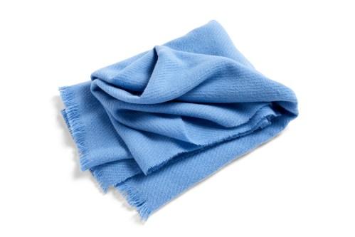 HAY Mono blanket sky blue
